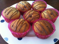 Banana & Chocolate Cupcakes