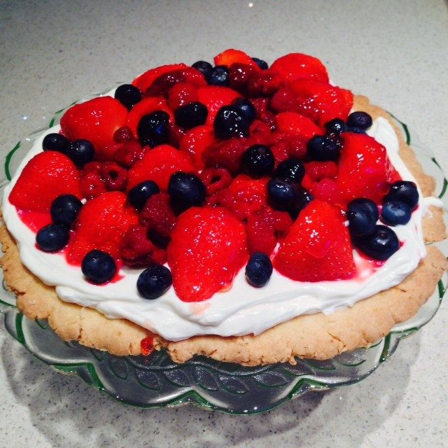 Midsummer Open Fruit Tart
