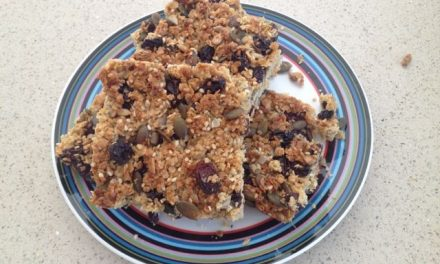 Seedy Breakfast Bars