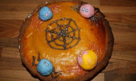 Spooky Pumpkin Pie