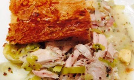 Chicken & Leek pie