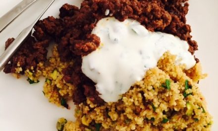 Persian Lamb Couscous