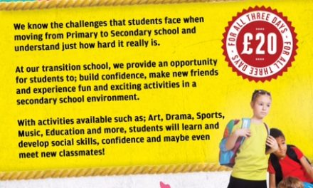 AHEAD TRANSITION SCHOOL IS BACK THIS EASTER