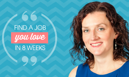 Find a job you love in 8 weeks!