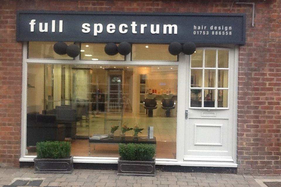 £10 off at full spectrum HAIR DESIGN