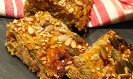 Carrot & Courgette Bars
