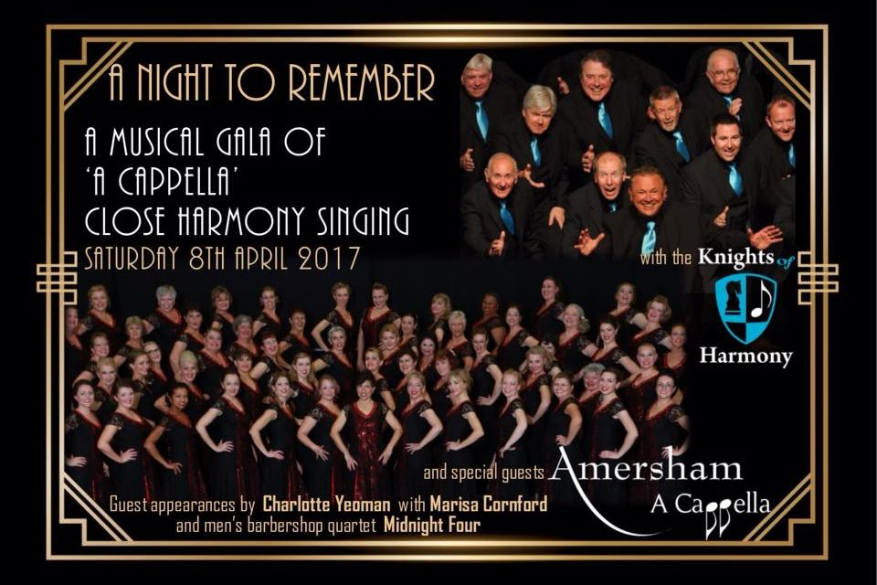 A MUSICAL GALA OF A CAPPELLA & CLOSE HARMONY SINGING