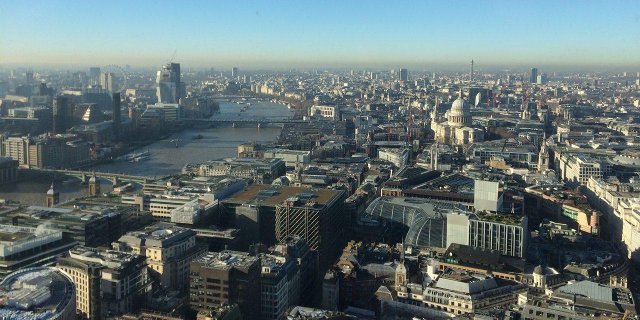 EXPLORE LONDON: SKY GARDENS