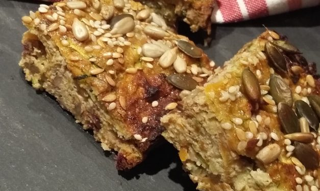 Apple n' oat bars
