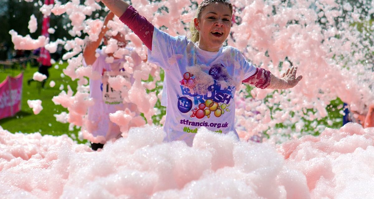 BUBBLE RUSH – Frothy fun for all the family