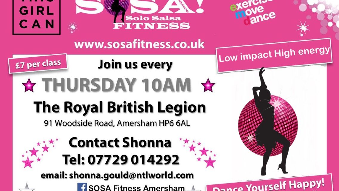 DANCE FITNESS WITH SHONNA AMERSHAM
