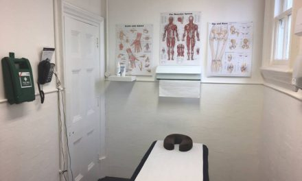 The Flying Physios Clinic @ Pinewood Studios