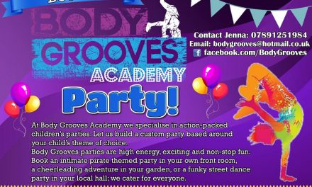 Book a Body Grooves Party today!