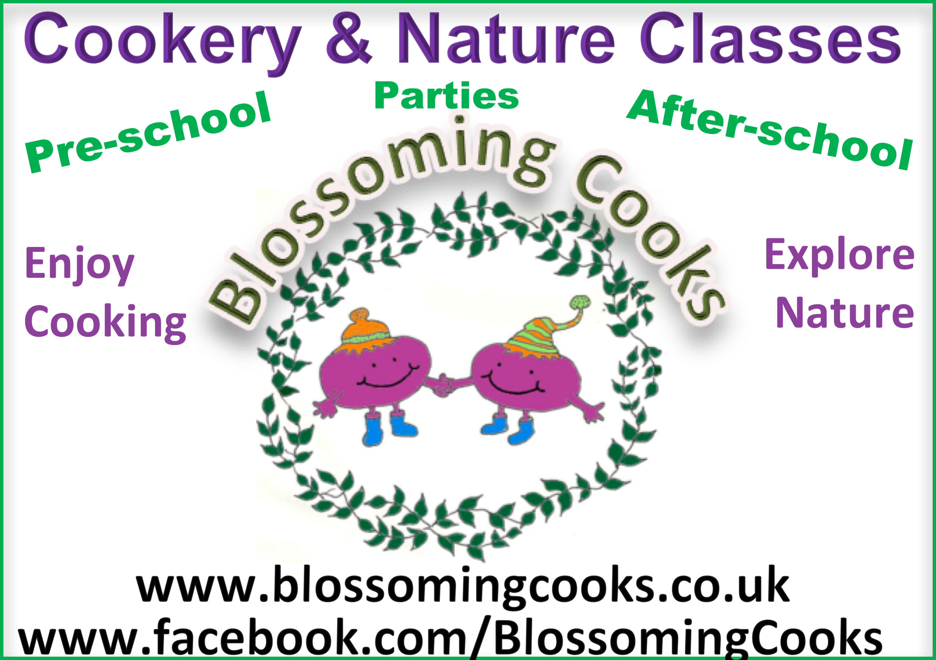 Blossoming Cooks September 2017