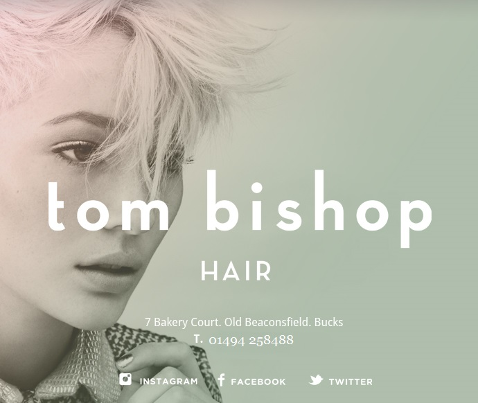 15% off your first visit at Tom Bishop