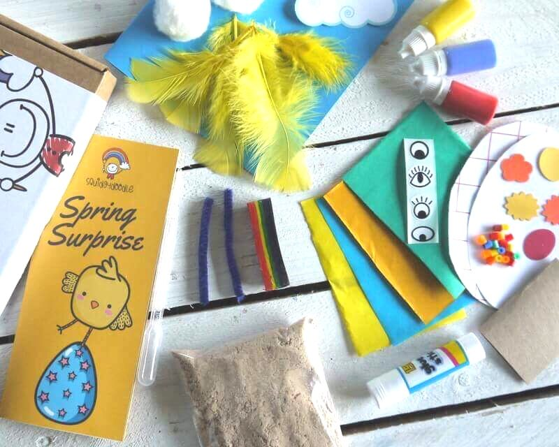 Fun, creative, activity for the Easter Holiday – Spring Craft Boxes
