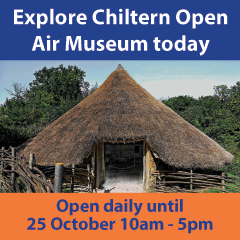 Chiltern Open Air Museum April 2018 Large Box Ad