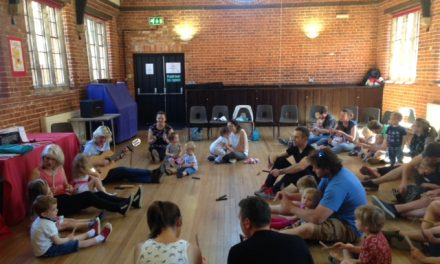 Teddies Music Club for live music and singing at home with your little ones
