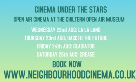 10% DISCOUNT AT CINEMA UNDER THE STARS AT CHILTERN OPEN AIR MUSEUM