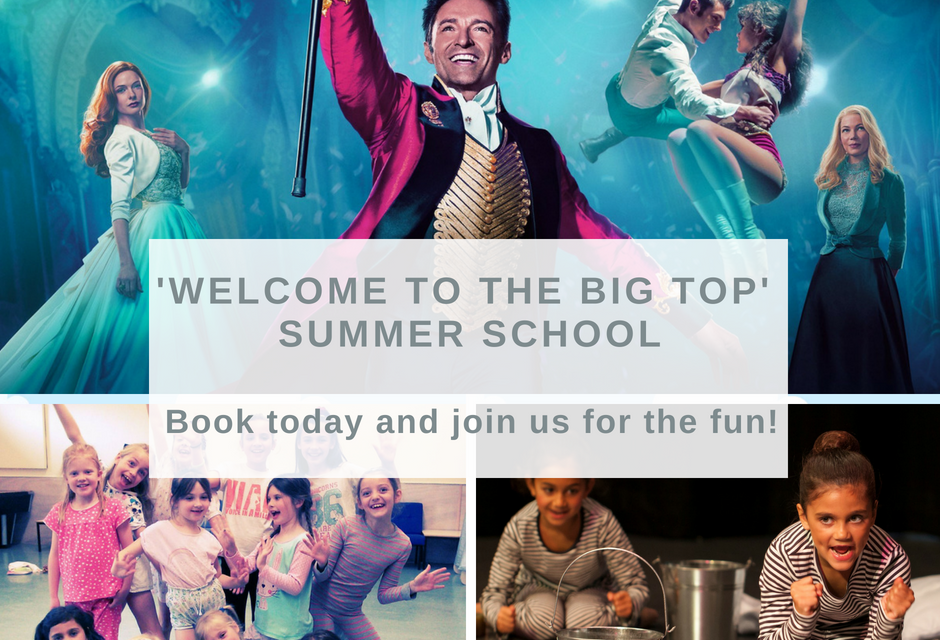 'Welcome to the Big Top' Summer School