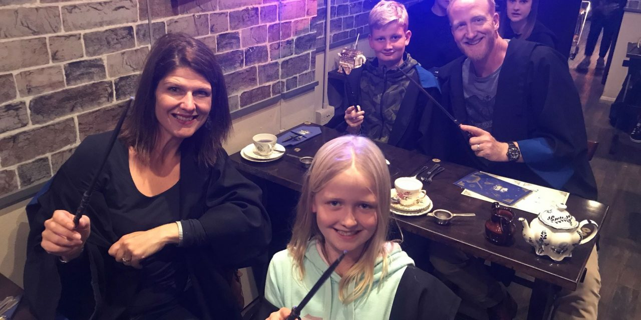 HARRY POTTER INSPIRED POTIONS CLASS & AFTERNOON TEA