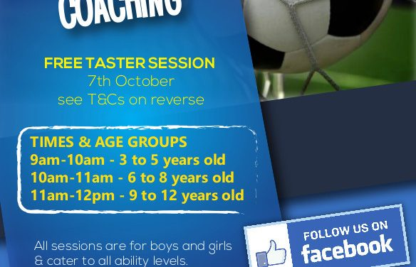 NEW FOOTBALL CLASSES IN GX – FREE TASTER SESSION