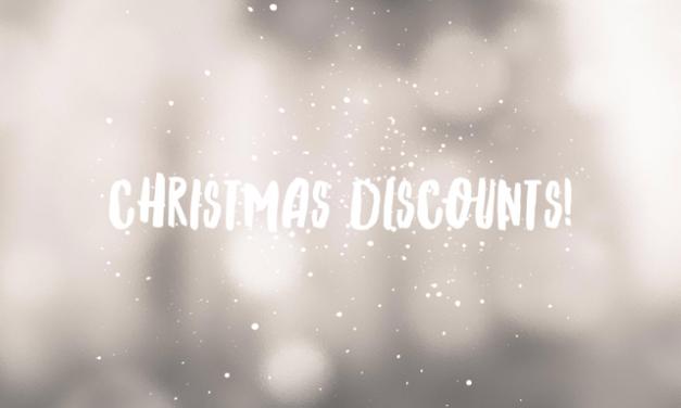 Christmas discounts at Full Spectrum Hair Design, CSP