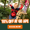 10% off at Go Ape