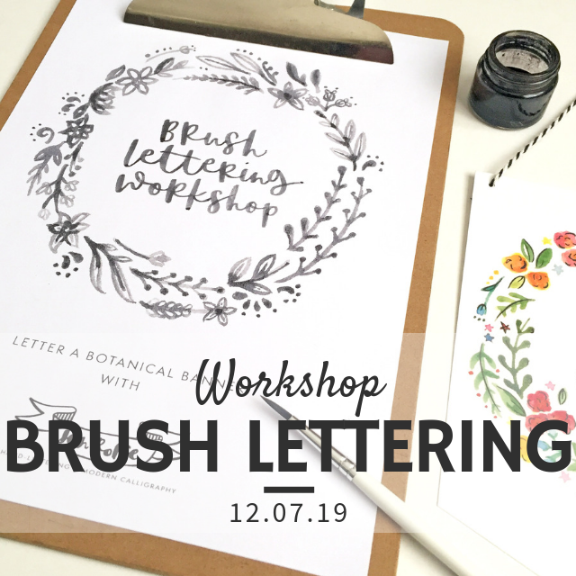 Brush Calligraphy Workshop