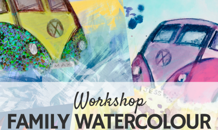 Family Watercolour Workshop 'Surf's Up'
