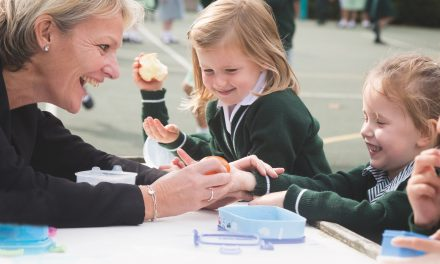 """""""Our role is to inspire, support and foster a love of learning."""" Debbie Isaachsen, Headteacher."""