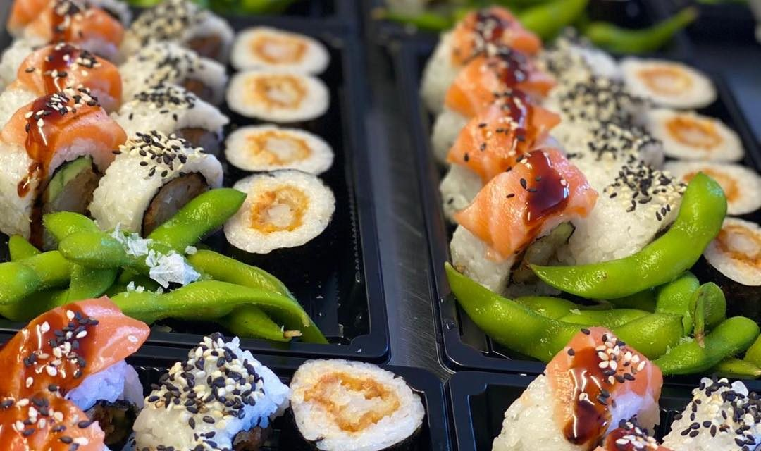 SUSHI DELIVERED TO YOUR DOORSTEP!