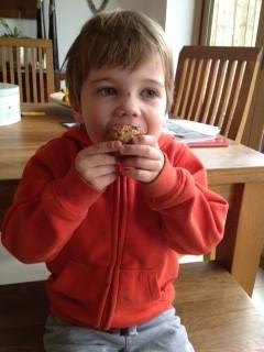 Malty Raisin cupcakes