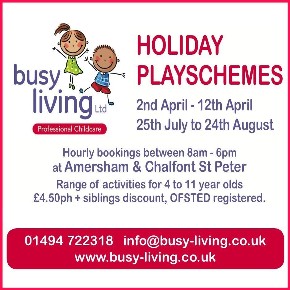 Busy Living Box Ad