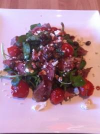 Lamb Tagliata with Tomatoes & Watercress