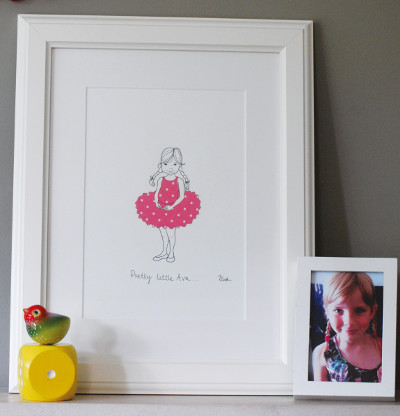 A great Chritmas gift idea – original and personalised artwork…