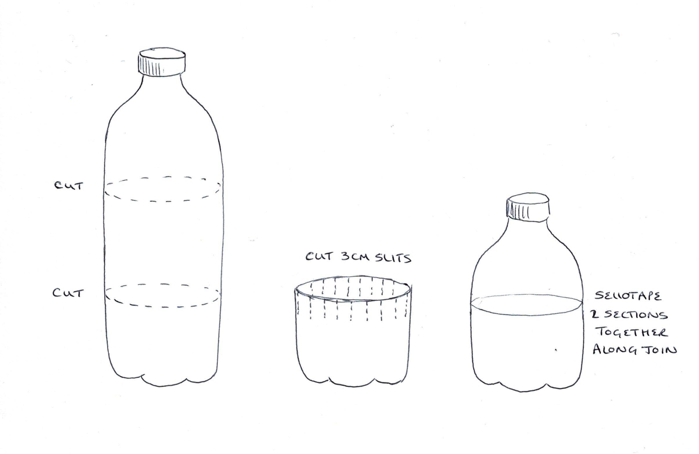 smiley bottle ghosts OgleePoglee