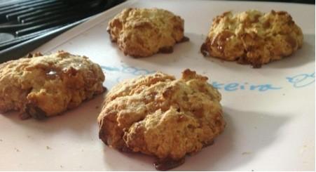 Toffee Apple Cookies