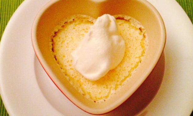 Creamy lemon pots