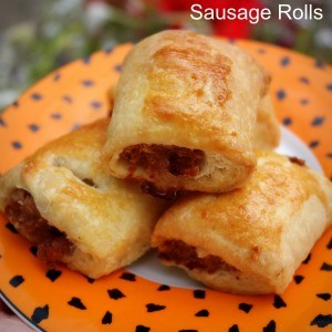 Sausage Rolls with Sour Cream Pastry