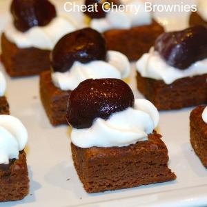 Cheat Cherry Brownie