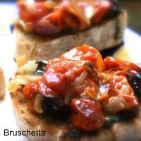 Valentines Meal – Brushetta – Starter