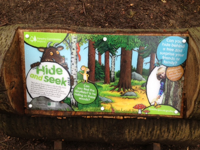 THE GRUFFALO COMES TO WENDOVER WOODS