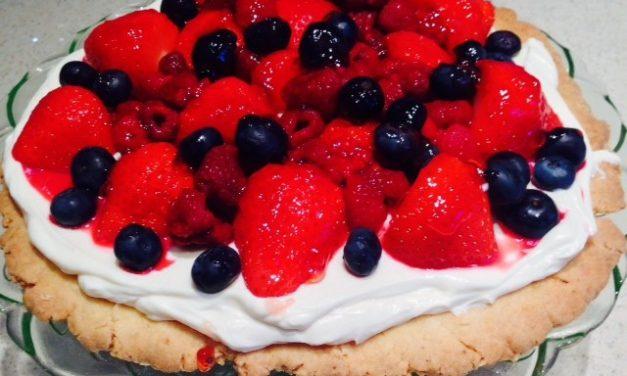 Midsummer Open Fruit Tart