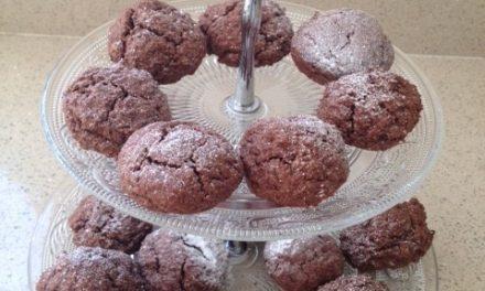 Little Chocolate & Almond Bombes