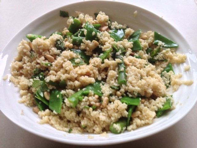 Green Couscous Salad