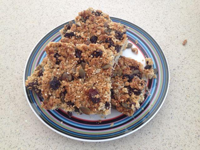 Seedy Breakfast Bars