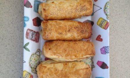 Easy peasy sausage rolls
