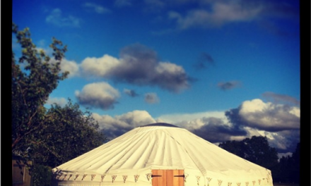Halloween Dining Event in the Yurt