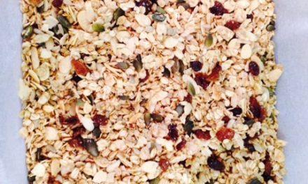 Coconut & almond granola